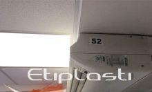 Defletor para ar condicionado piso teto