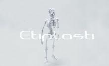 Esqueleto de acrílico.