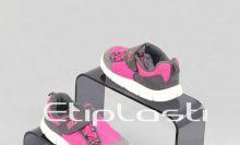 Expositor de calçados para vitrine