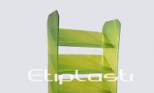 Expositor em acrílico para folders e revistas