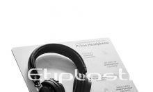 Expositor em acrílico para fone de ouvido