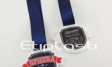 Medalha em acrílico frente e verso