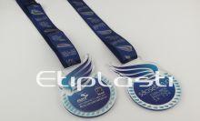 Medalha personalizada frente e verso