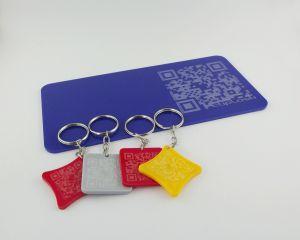 Qr code em peças de acrílico