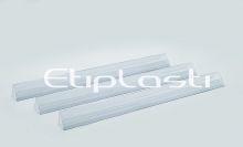 Régua de PVC para gôndola