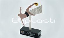 Troféu futebol de areia